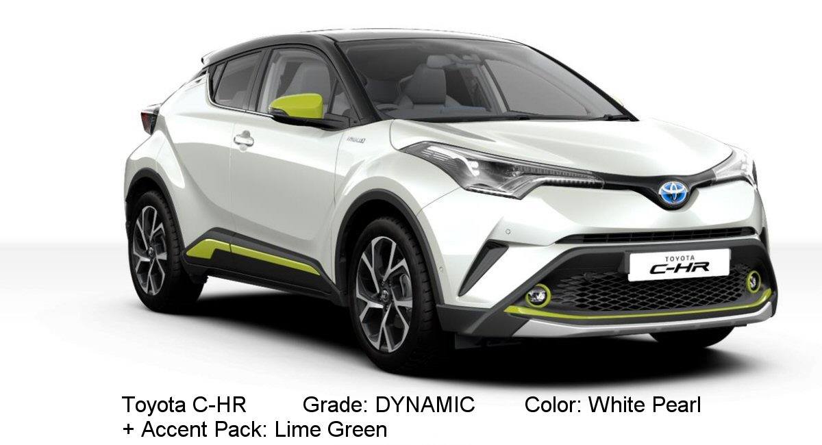 Best Buy Transmission >> Toyota C-HR available colors - Tax Free Car Hub Seychelles