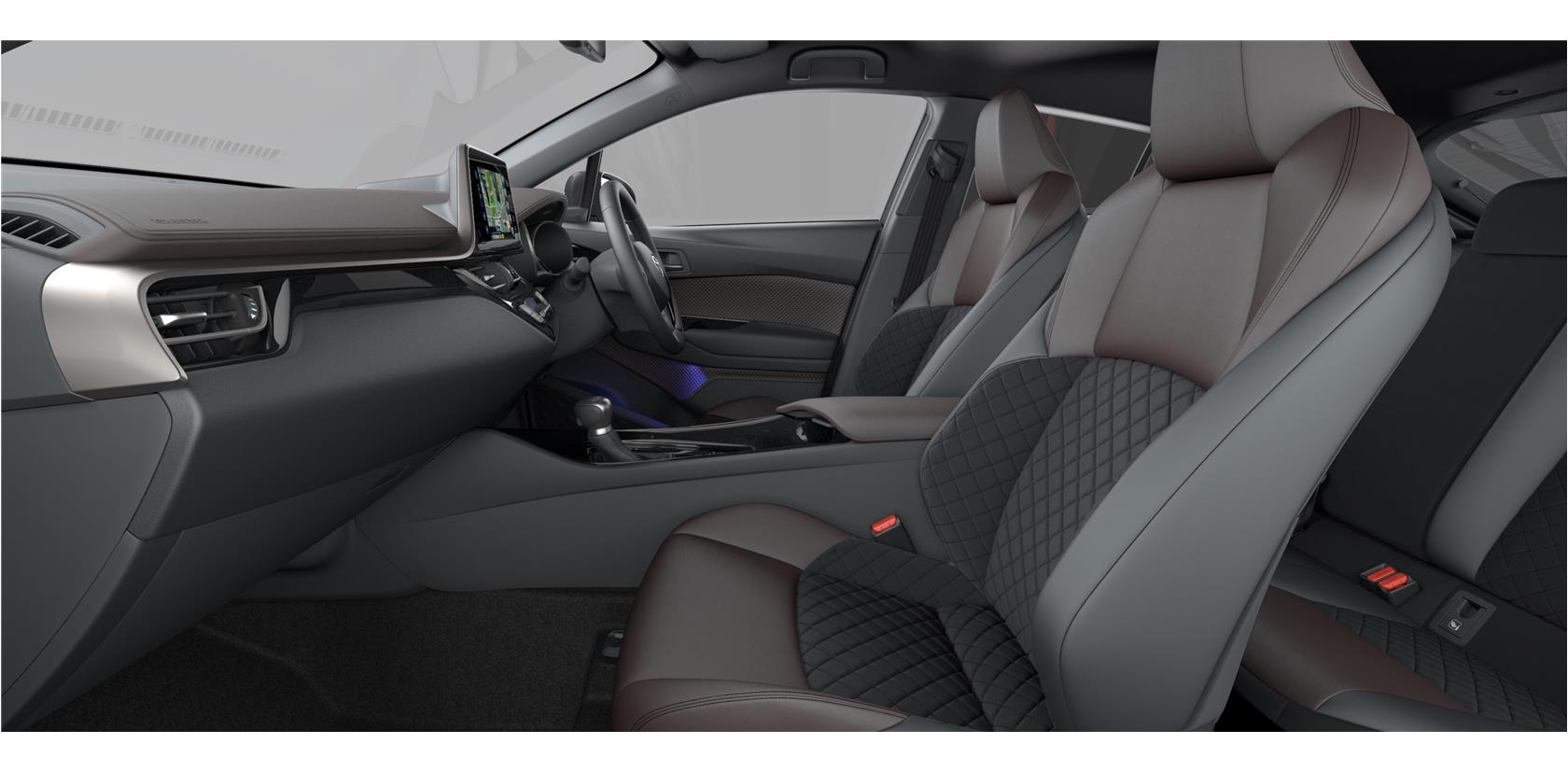 Car Paint Colors >> Toyota C-HR interior colors - Tax Free Car Hub Seychelles