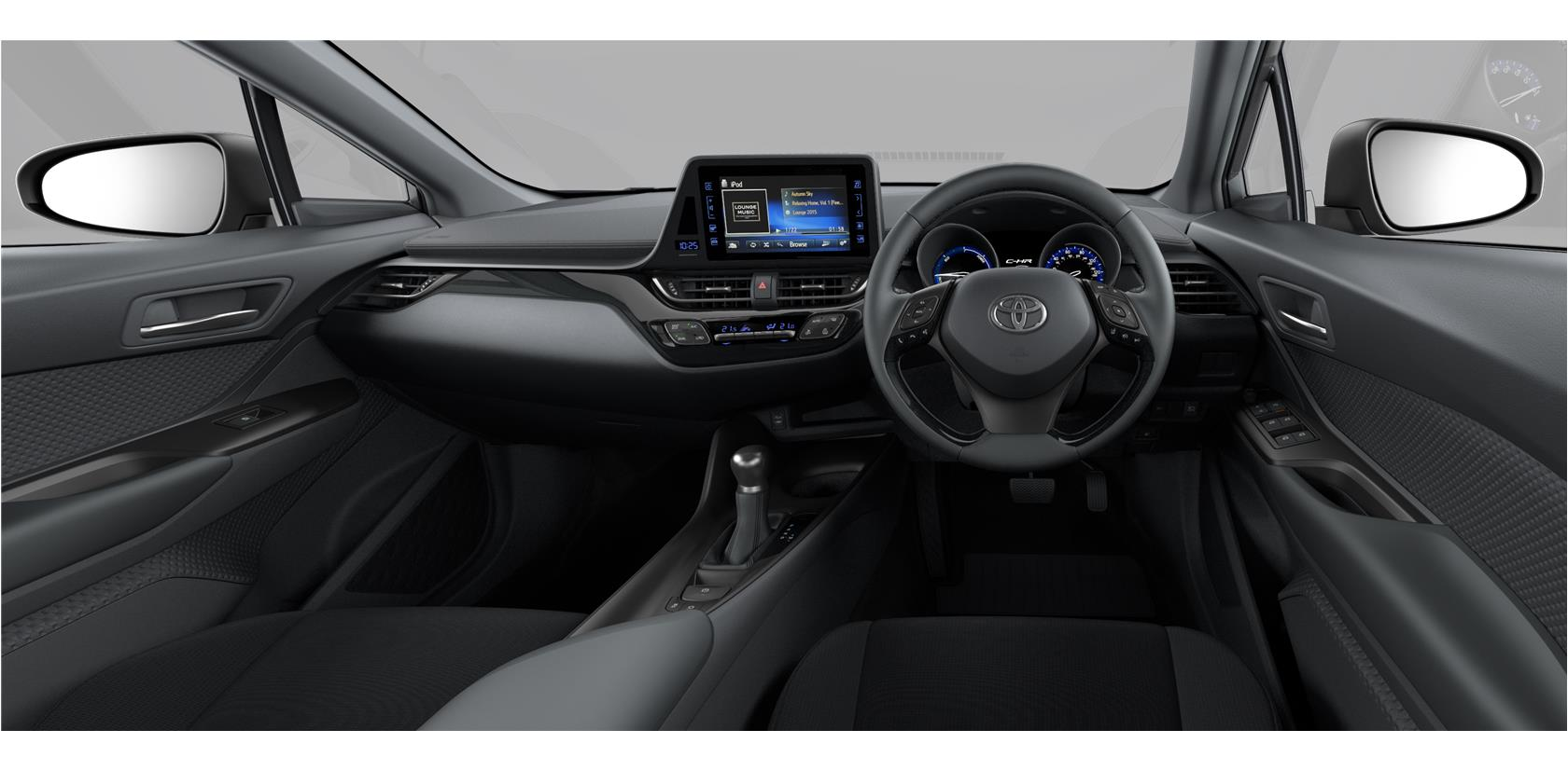 Toyota C-HR interior colors - Tax Free Car Hub Seychelles